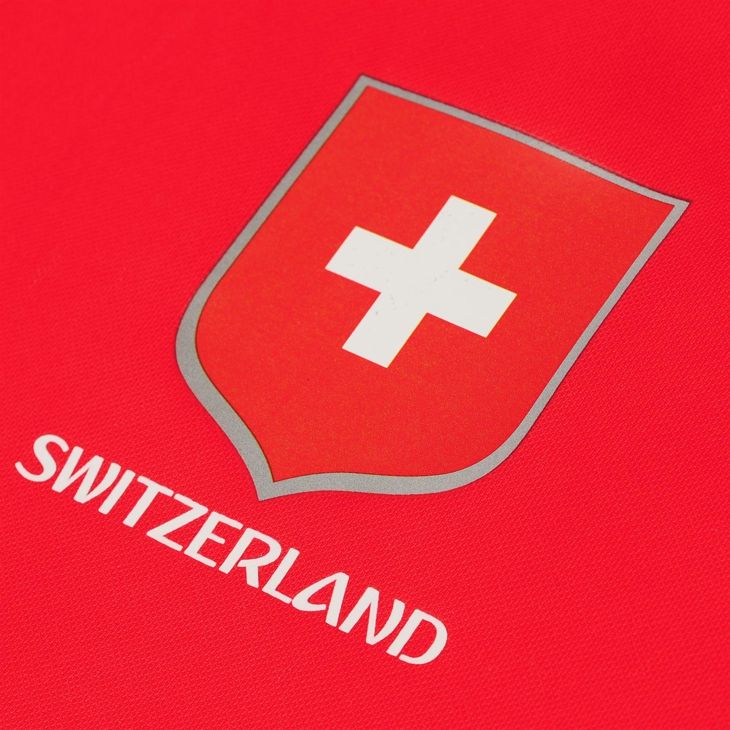 811fcffbb ... FIFA World Cup 2018 Switzerland T-Shirt Mens Red Football Soccer Top Tee
