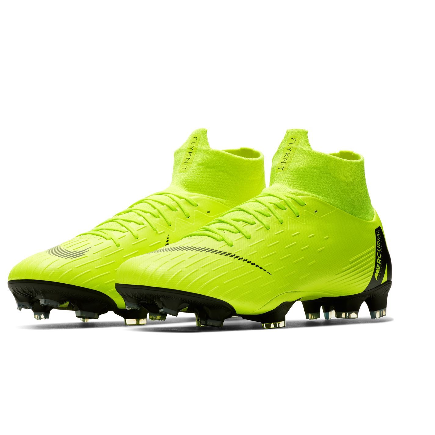 save off 508b8 bb30e Details about Nike Mercurial Superfly Pro Firm Ground Football Boots Mens  Yellow Soccer Cleats