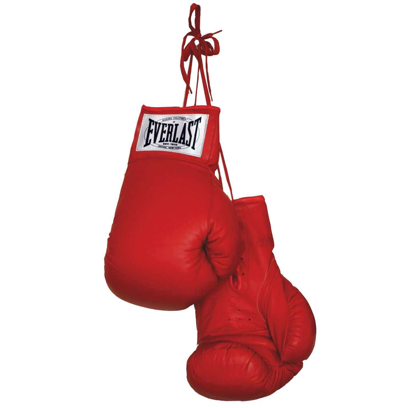 Everlast Fitness Gloves Mens: Everlast Autograph Boxing Gloves Red Display Gloves Only