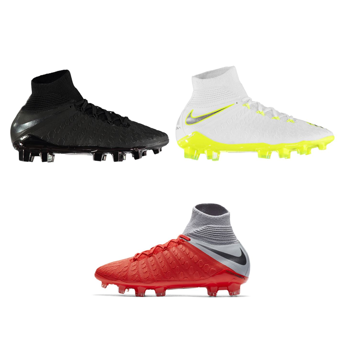3e8cfda244b ... Nike Hypervenom Phantom Elite Firm Ground Football Boots Juniors Soccer  Cleats ...