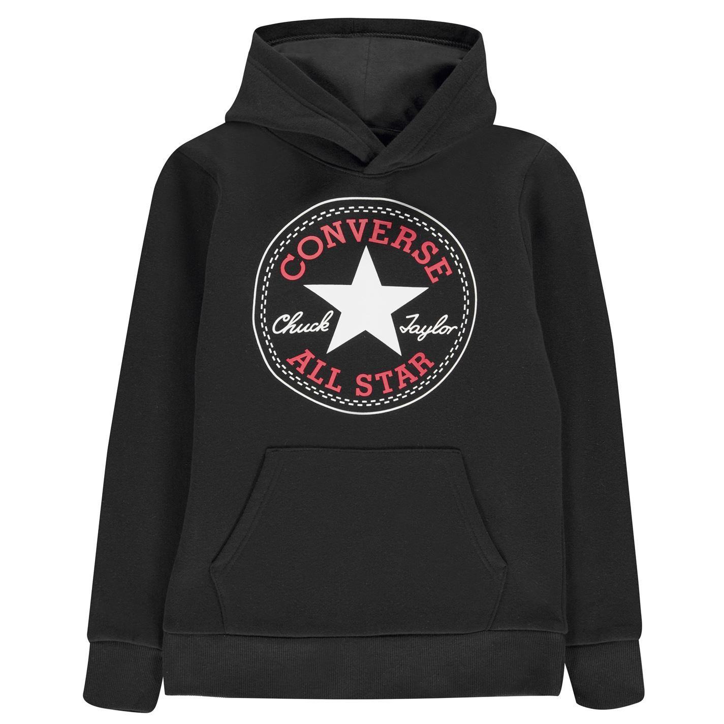 Details about Converse All Star Logo Pullover Hoody Juniors Skate Clothing Hoodie Sweater