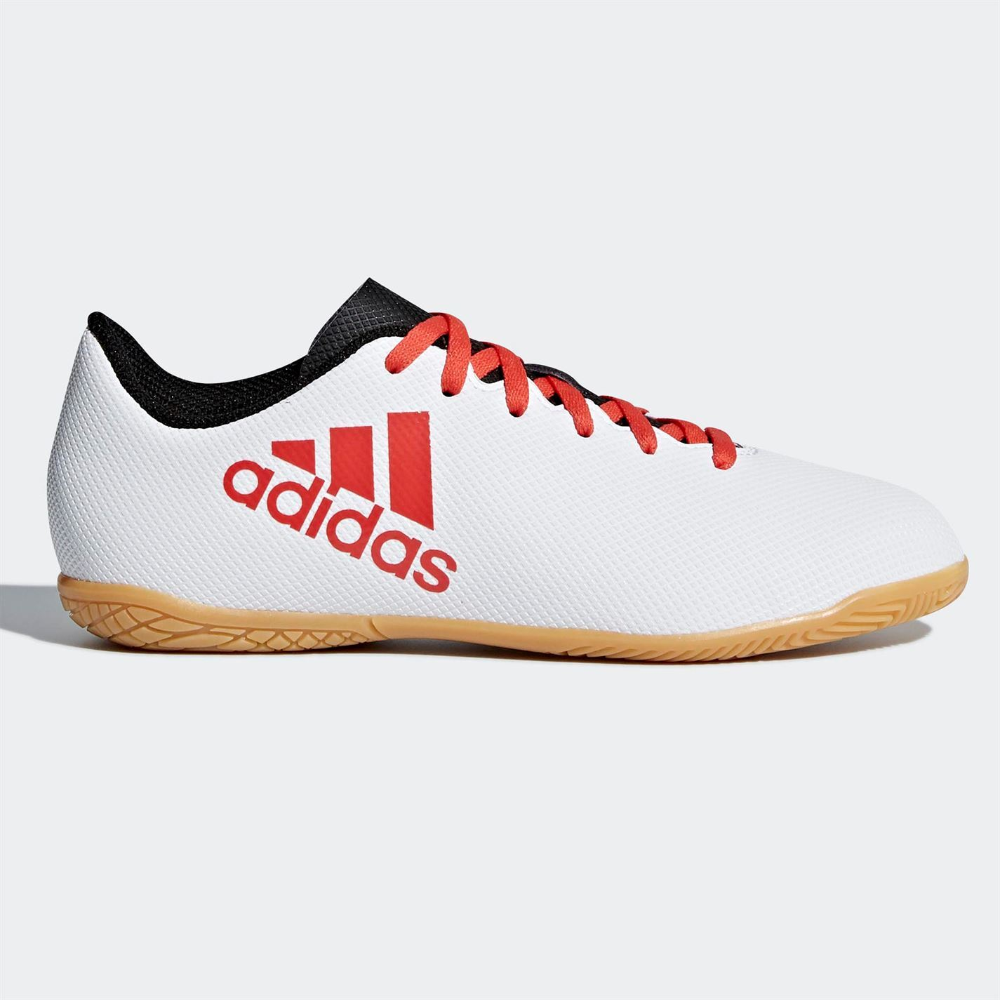 43d8a3119 adidas X Tango 17.4 Indoor Football Trainers Juniors White Soccer Shoes  Sneakers