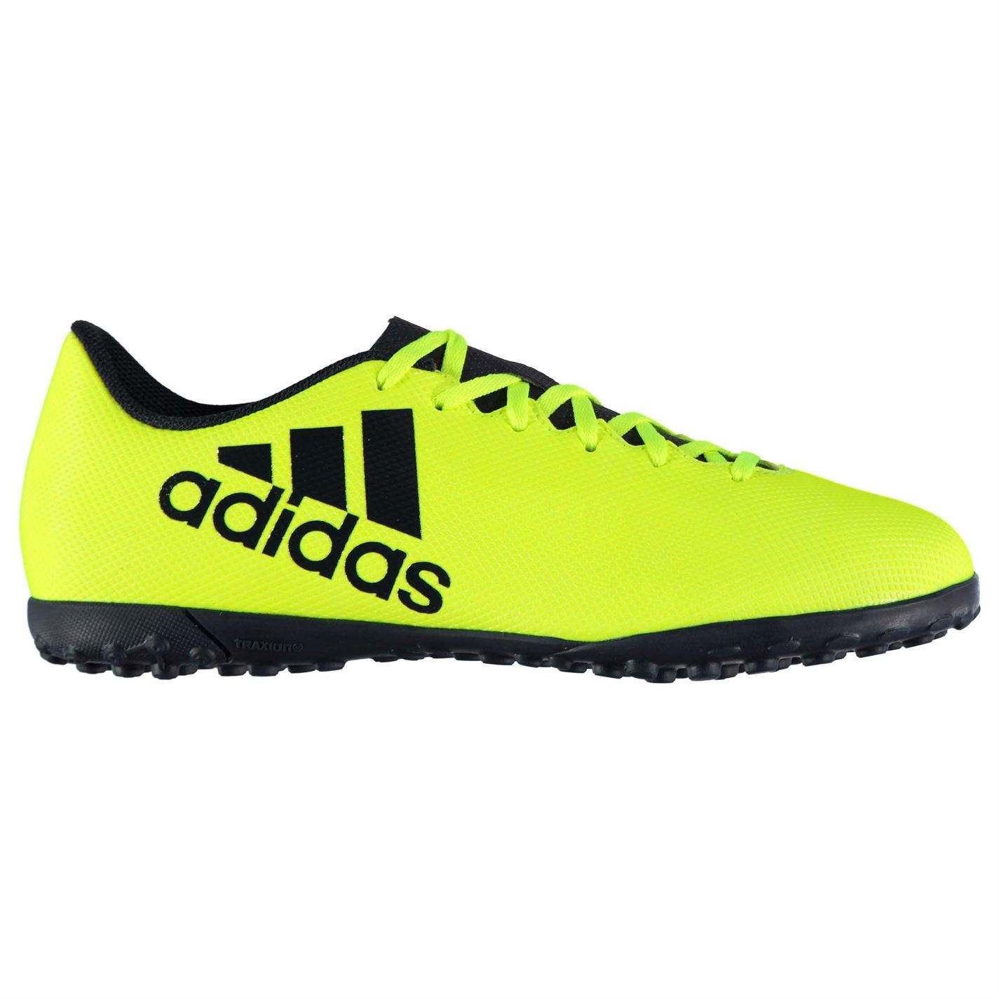 1121128fe ... adidas X 17.4 Astro Turf Football Trainers Mens Yellow Ink Soccer Shoes  Sneakers ...