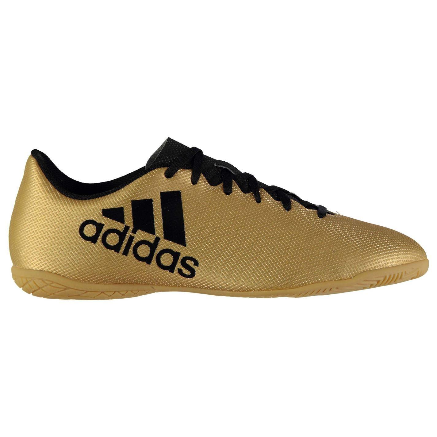 ... Adidas Tango X 1 7.4 interior fútbol entrenadores Mens oro negro fútbol  zapatillas de fútbol ... 098d6645a247a