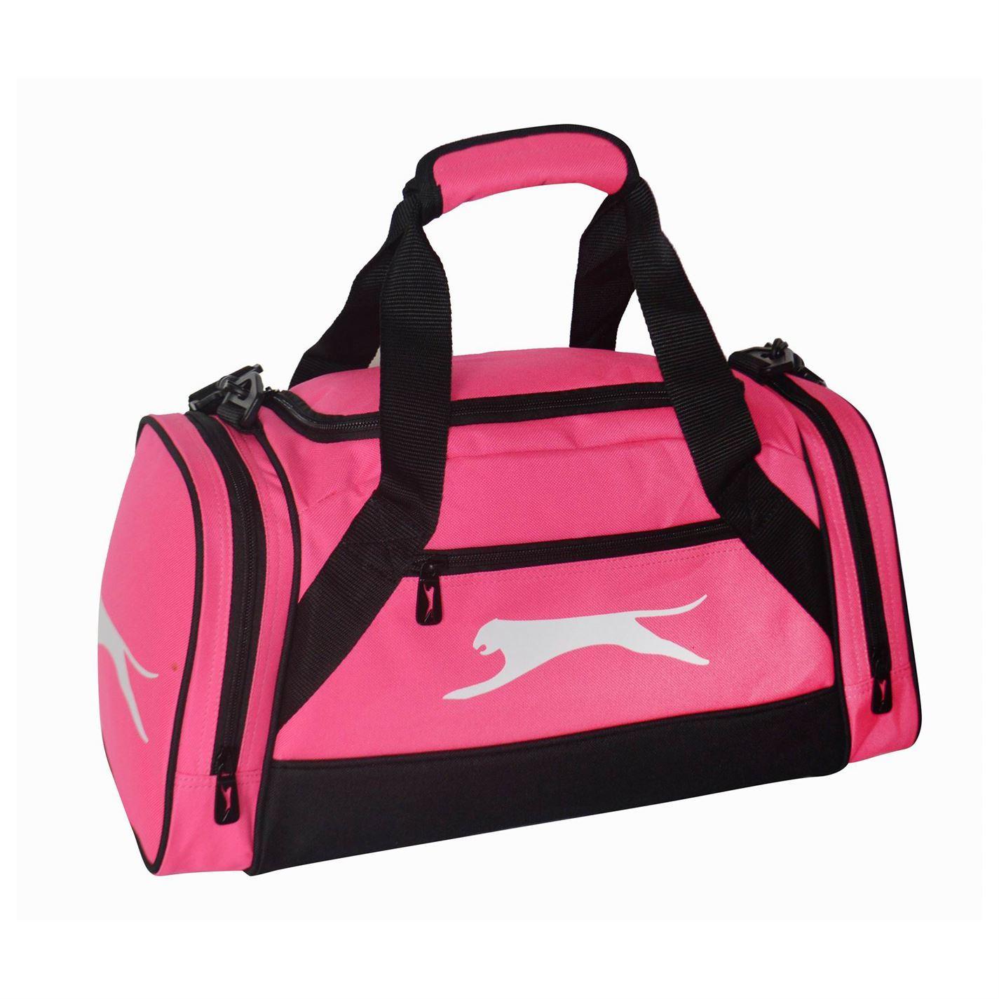 Slazenger Extra Small Holdall Fuchsia Sports Bag Gymbag Carryall