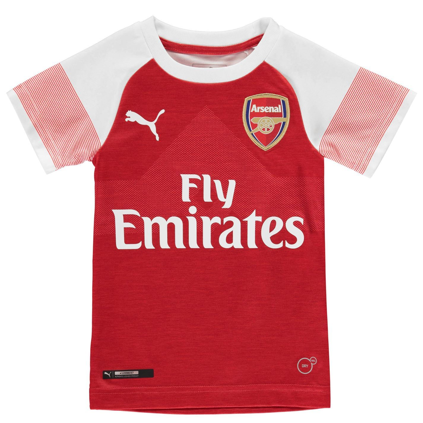 quality design a6ea0 a8381 Details about Puma Arsenal Home Mini Kit 2018 2019 Infants Red Football  Soccer Strip