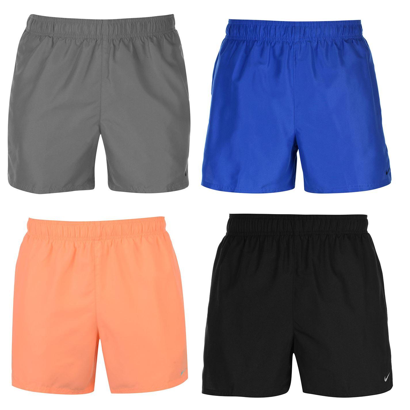 Pertenece Socialismo Tractor  Nike Core Swim Shorts Mens Bottoms Swimwear Beachwear Small Black | eBay