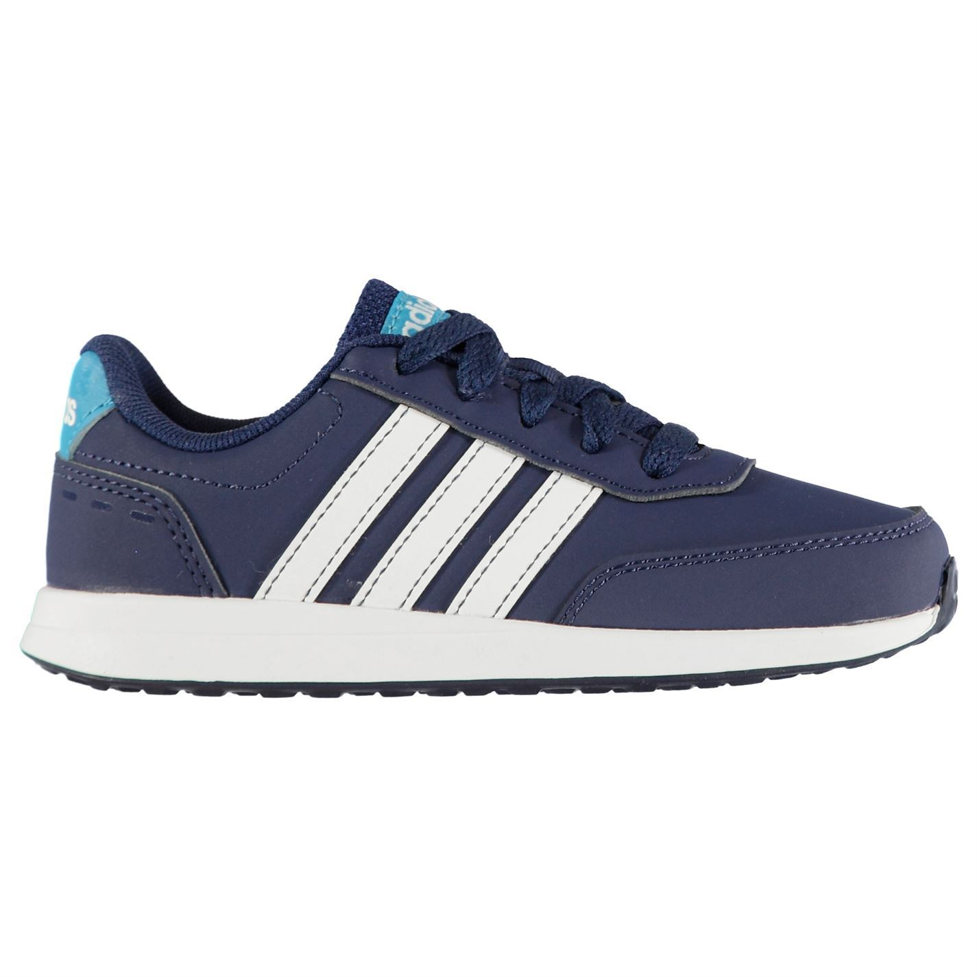 adidas Switch Nubuck Childrens Boys Sneakers Runners Laces Fastened Everyday