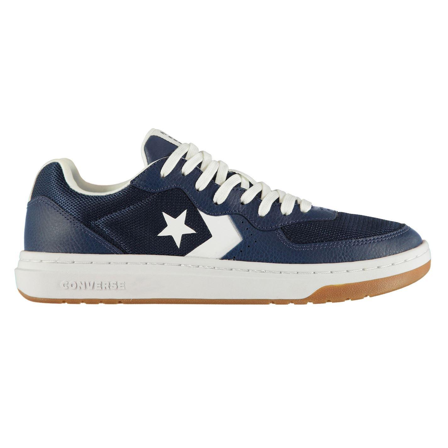 Converse-Rival-Baskets-Pour-Homme-Chaussures-De-Loisirs-Chaussures-Baskets miniature 19