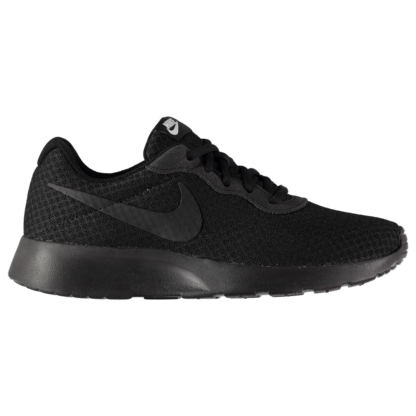 ... Nike Tanjun Trainers Womens Black Sports Trainers Sneakers ... 6840be498