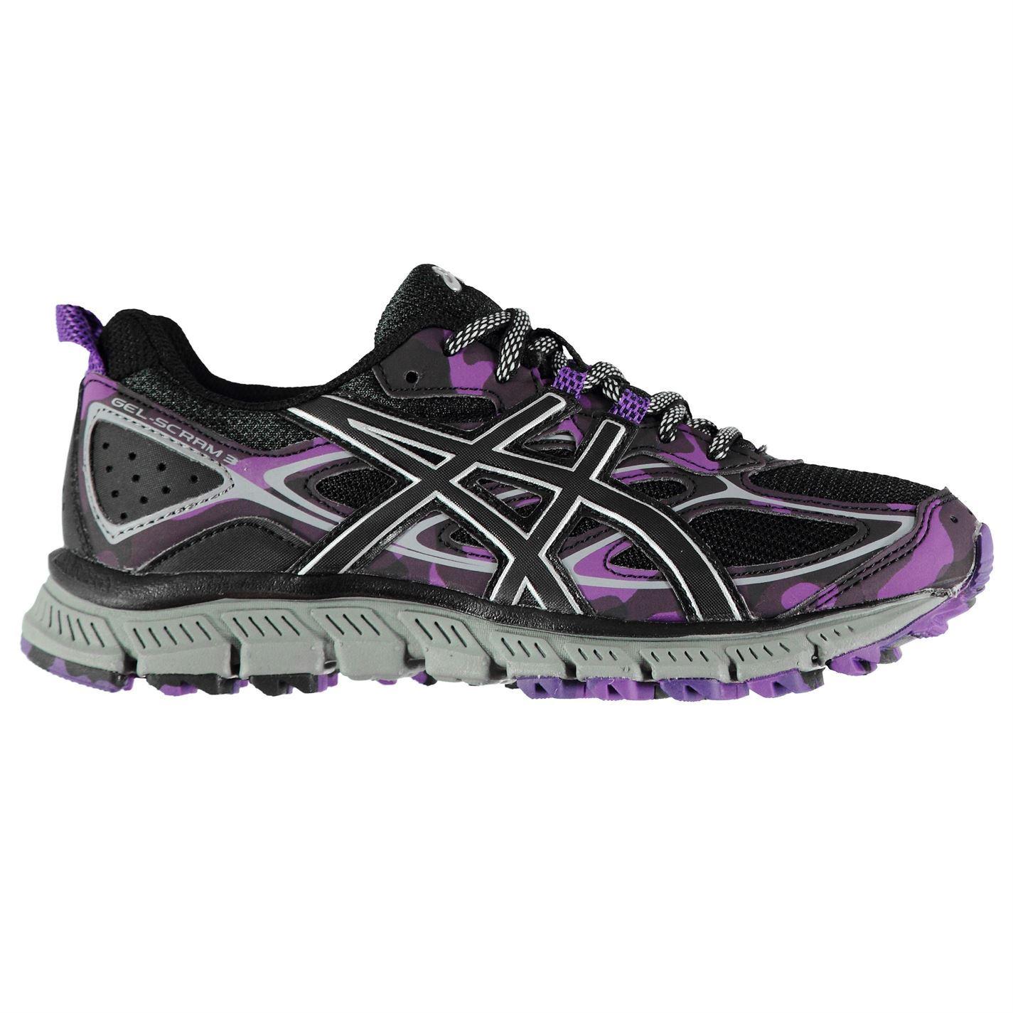 1a1a64c693 ... Asics Gel Scram 3 Scarpe Running donna grigio/rosa eseguire Jogging  scarpe da ginnastica scarpe ...