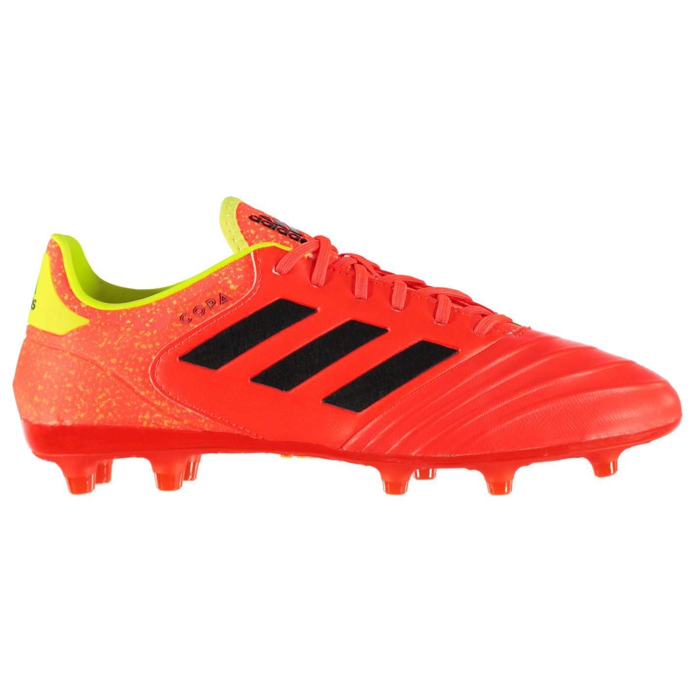 d4cf9ff77532 ... adidas Copa 18.2 FG Firm Ground Football Boots Mens Red Black Soccer  Shoe Cleats ...