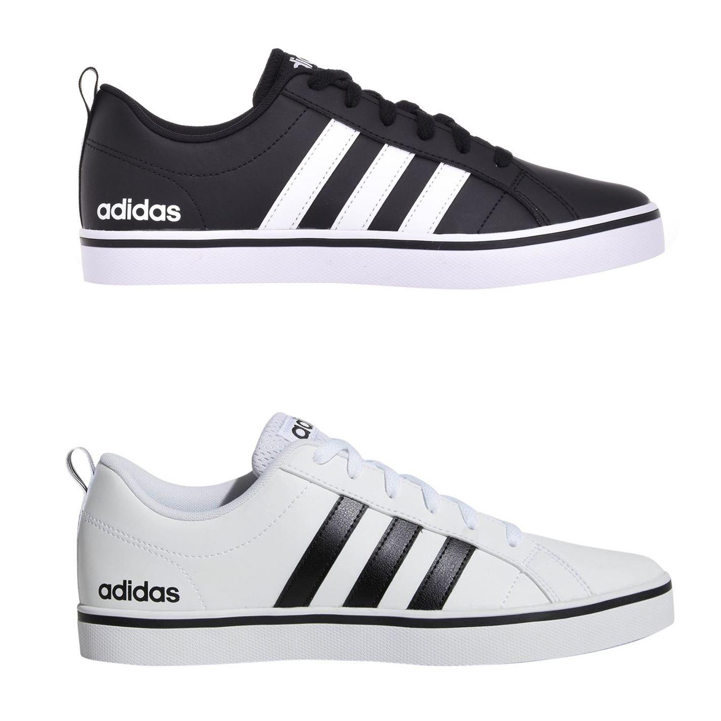adidas VS Pace Sneakers for Men, Size 44 23 EU, Black
