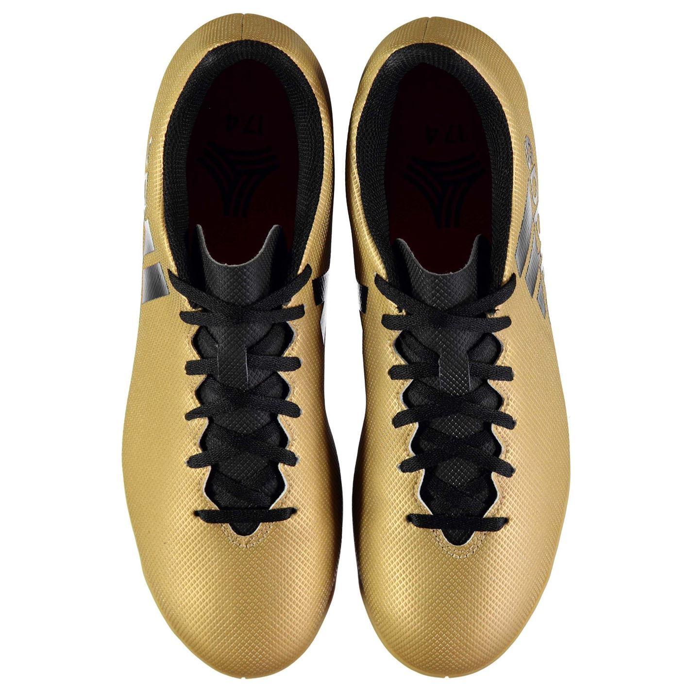 ... Adidas Tango X 1 7.4 interior fútbol entrenadores Mens oro negro fútbol  zapatillas de fútbol 88a72cfbda379