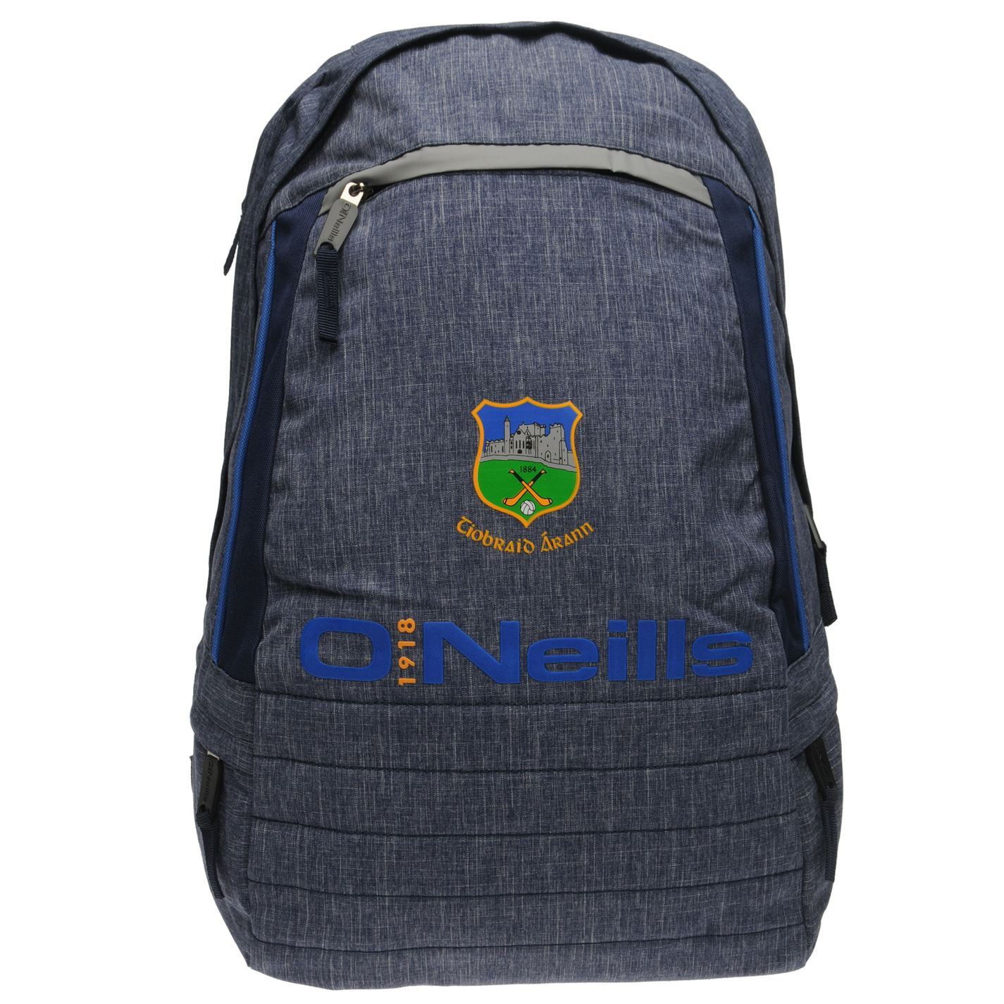 2db770168ddfe5 O'Neills Tipperary GAA Falcon Backpack Marine Sports Bag Holdall Rucksack