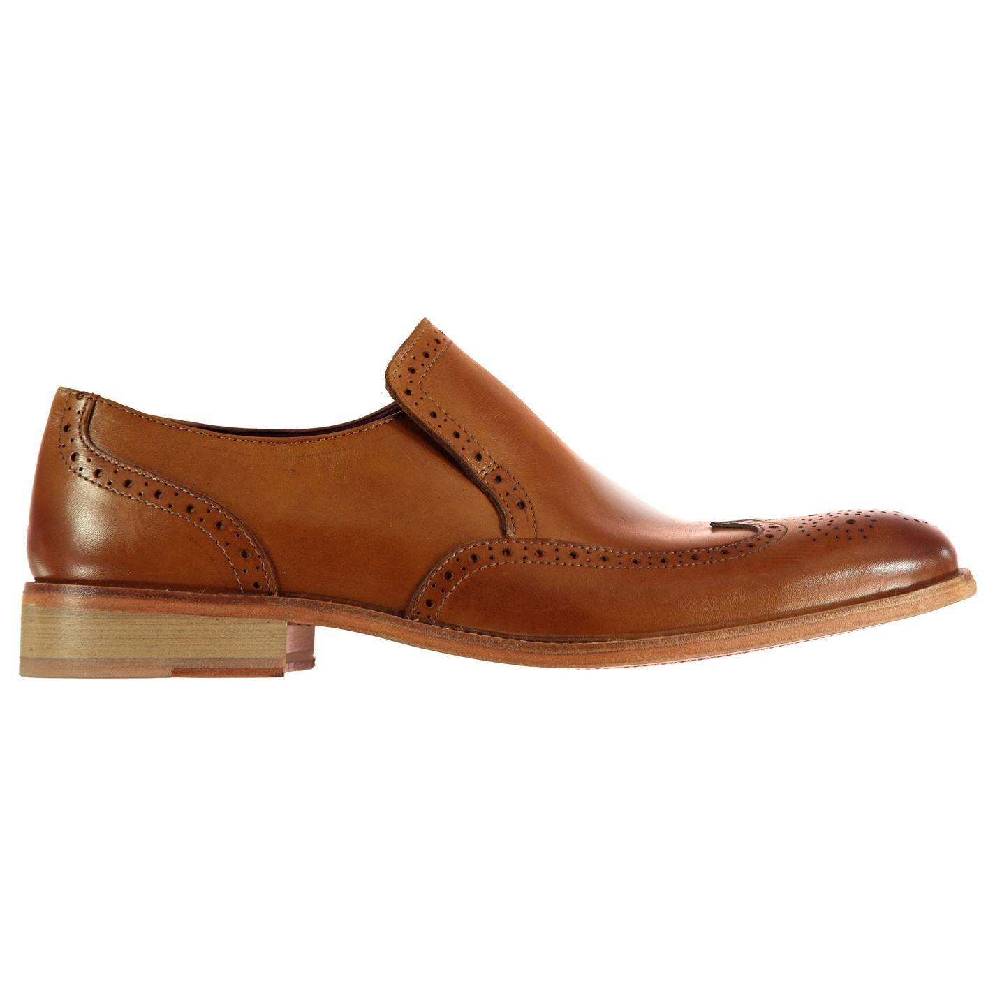 Firetrap Somerset Slip On Brogue Shoes