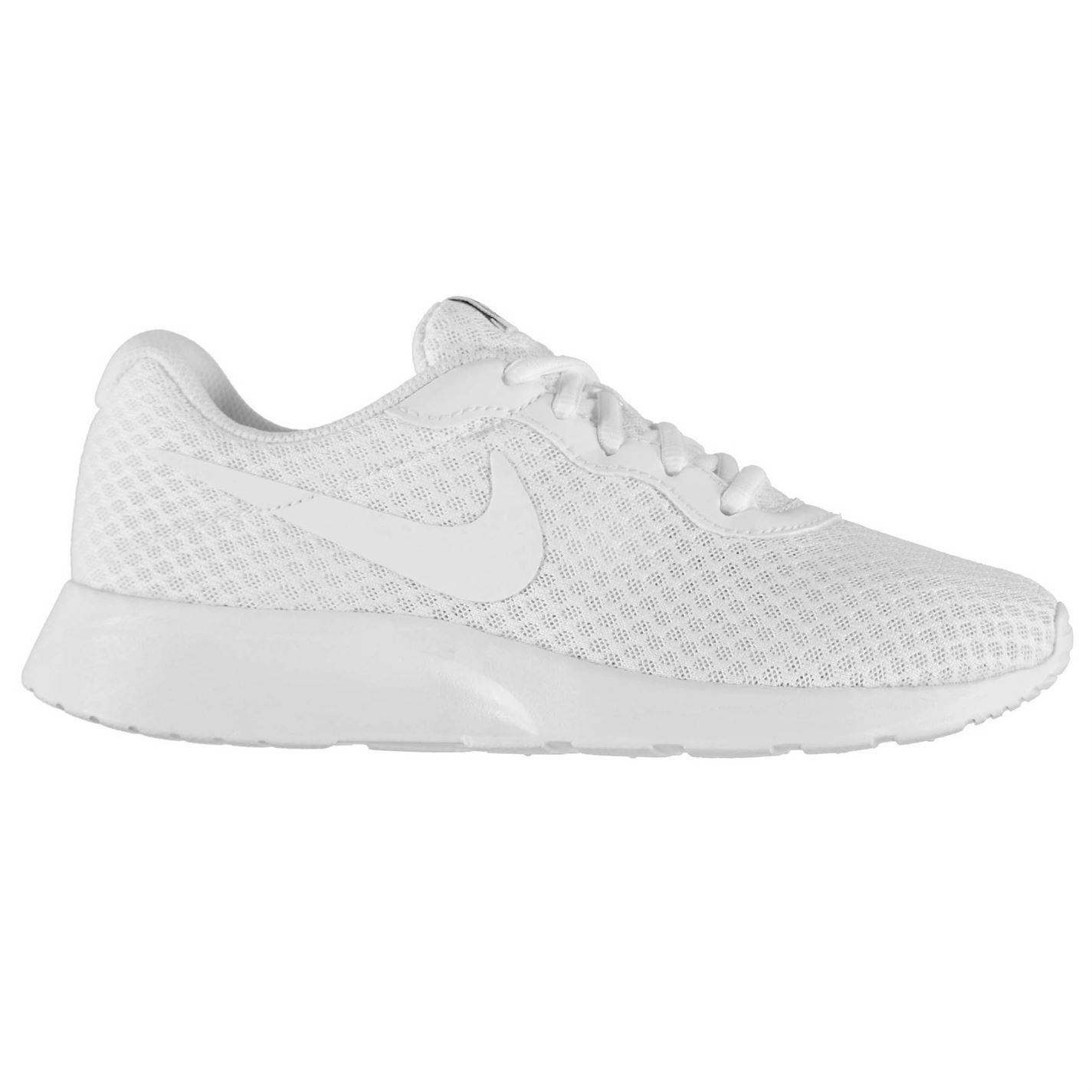 6826b05bd1c Details about Nike Tanjun Training Shoes Womens White White Gym Fitness  Trainers Sneakers