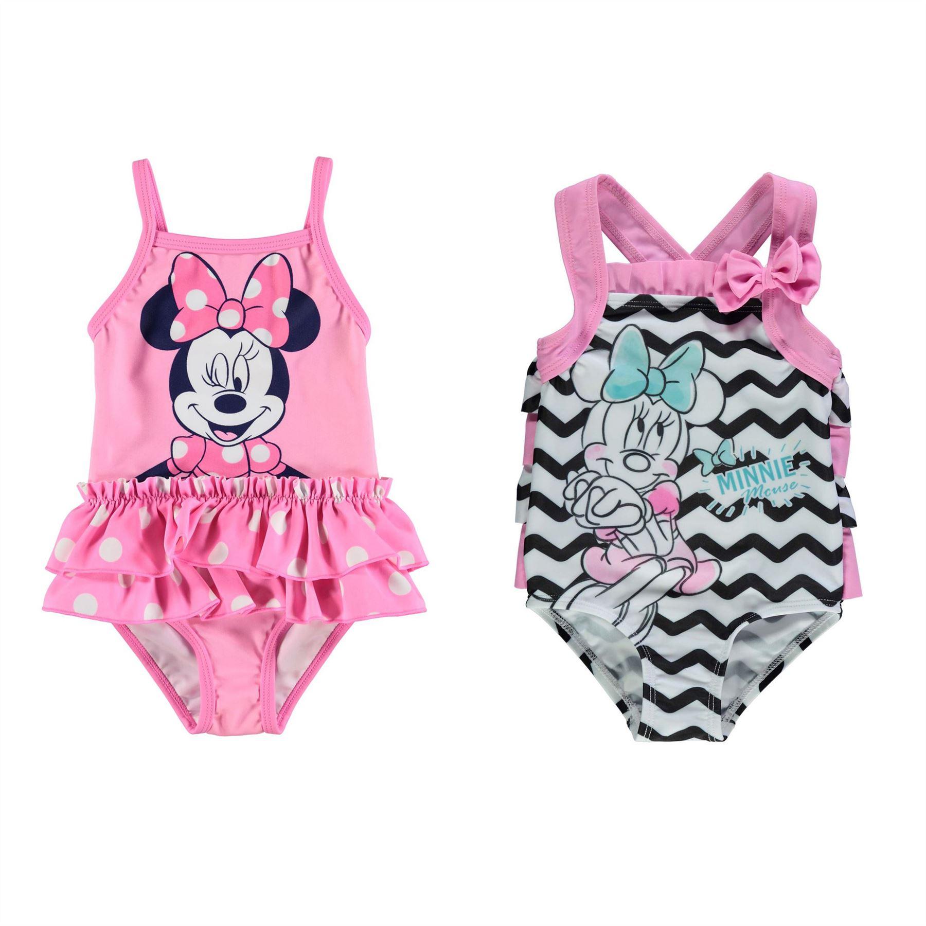 06b60a09d ... Minnie Mouse Swimsuit Infant Baby Girls Swimwear Bathing Costume  Beachwear ...
