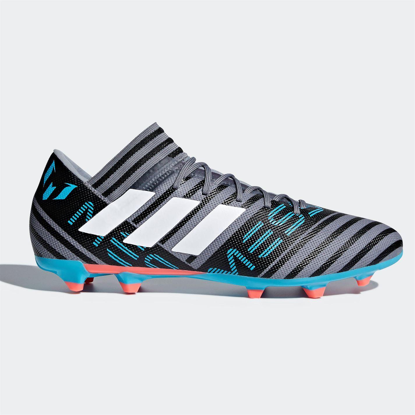 59158b920521ca ... adidas Nemeziz Messi 17.3 Firm Ground Football Boots Mens Grey Soccer  Cleats ...