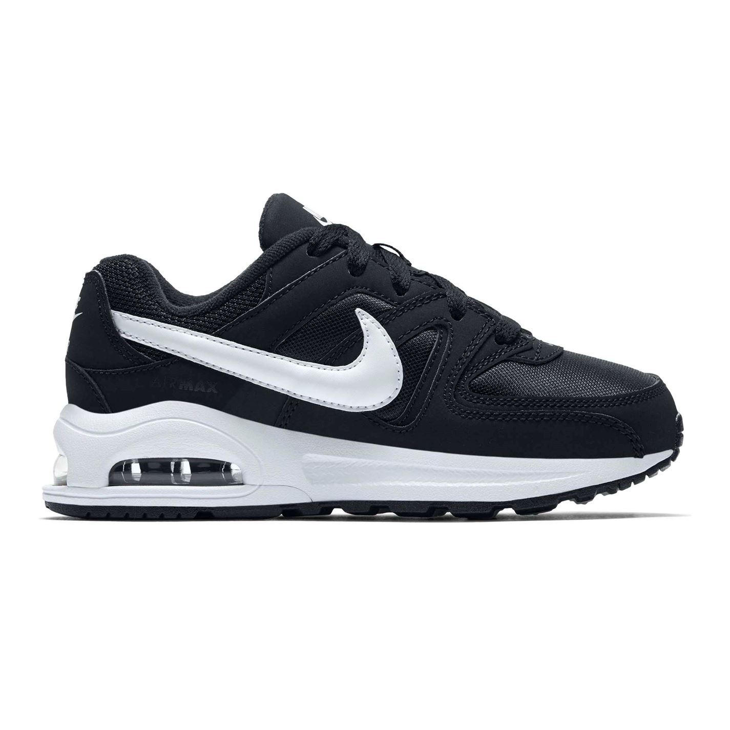 Details about Nike Air Max Command Trainers Childs Boys BlackWhite scarpa Sneakers Footwear