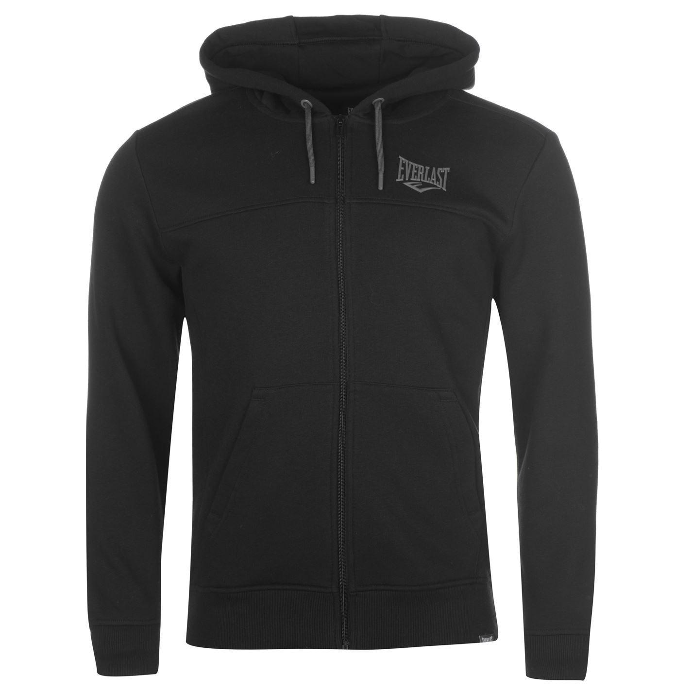 Everlast-Logo-Full-Zip-Hoody-Jacket-Mens-Hoodie-Sweatshirt-Sweater-Hooded-Top thumbnail 4