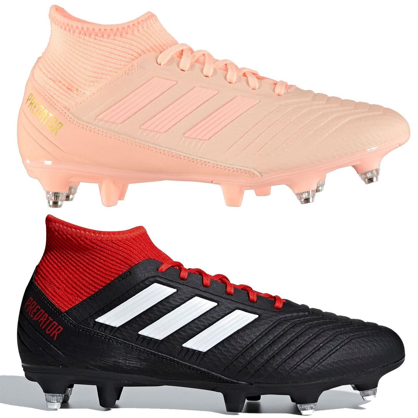 fbaa5da642 ... adidas predator 18.3 SG Soft Ground Football Boots Mens Soccer Shoes  Cleats ...