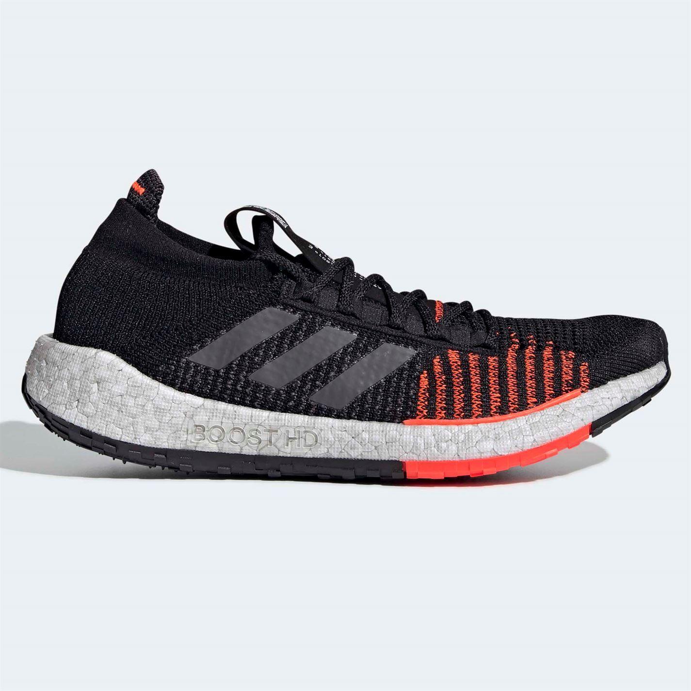 adidas black orange shoes