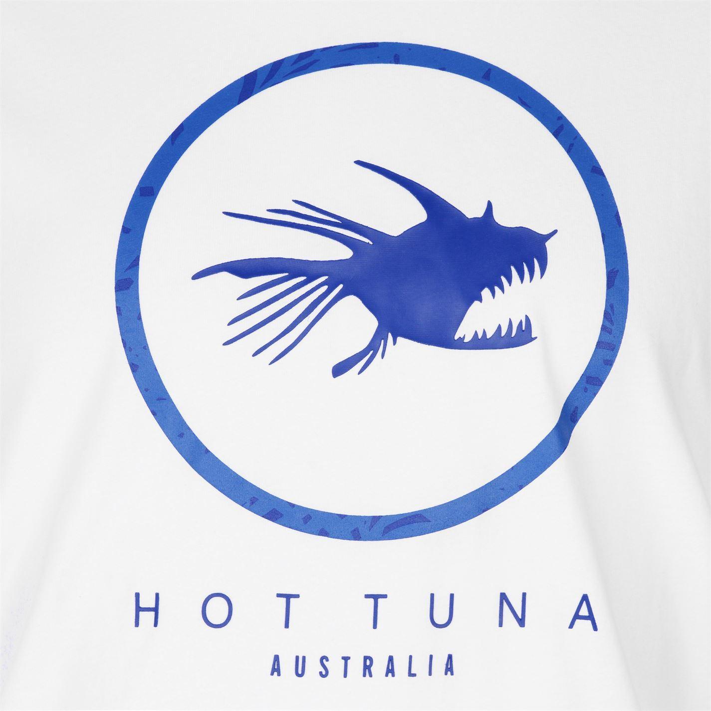 c960770879d Hot Tuna Australia Logo T-Shirt Mens White Tee Shirt Tshirt Top | eBay