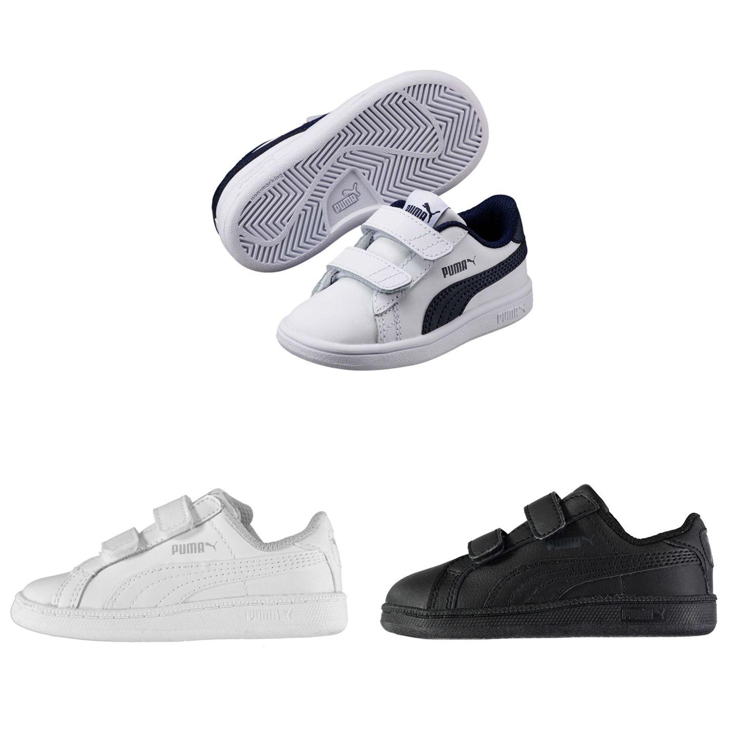 89b6a02c958b ... Puma Smash Suede Fun Court Trainers Infant Boys Shoes Footwear ...