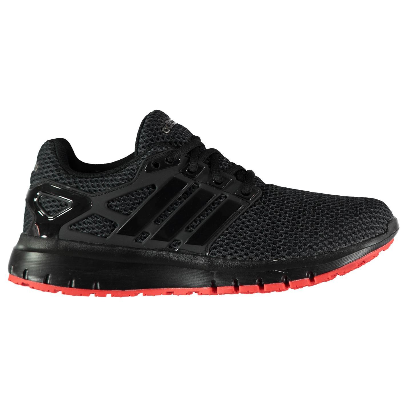 c5f5d09f5 ... adidas Energy Cloud 2 Running Shoes Mens Black/Red Jogging Trainers  Sneakers ...