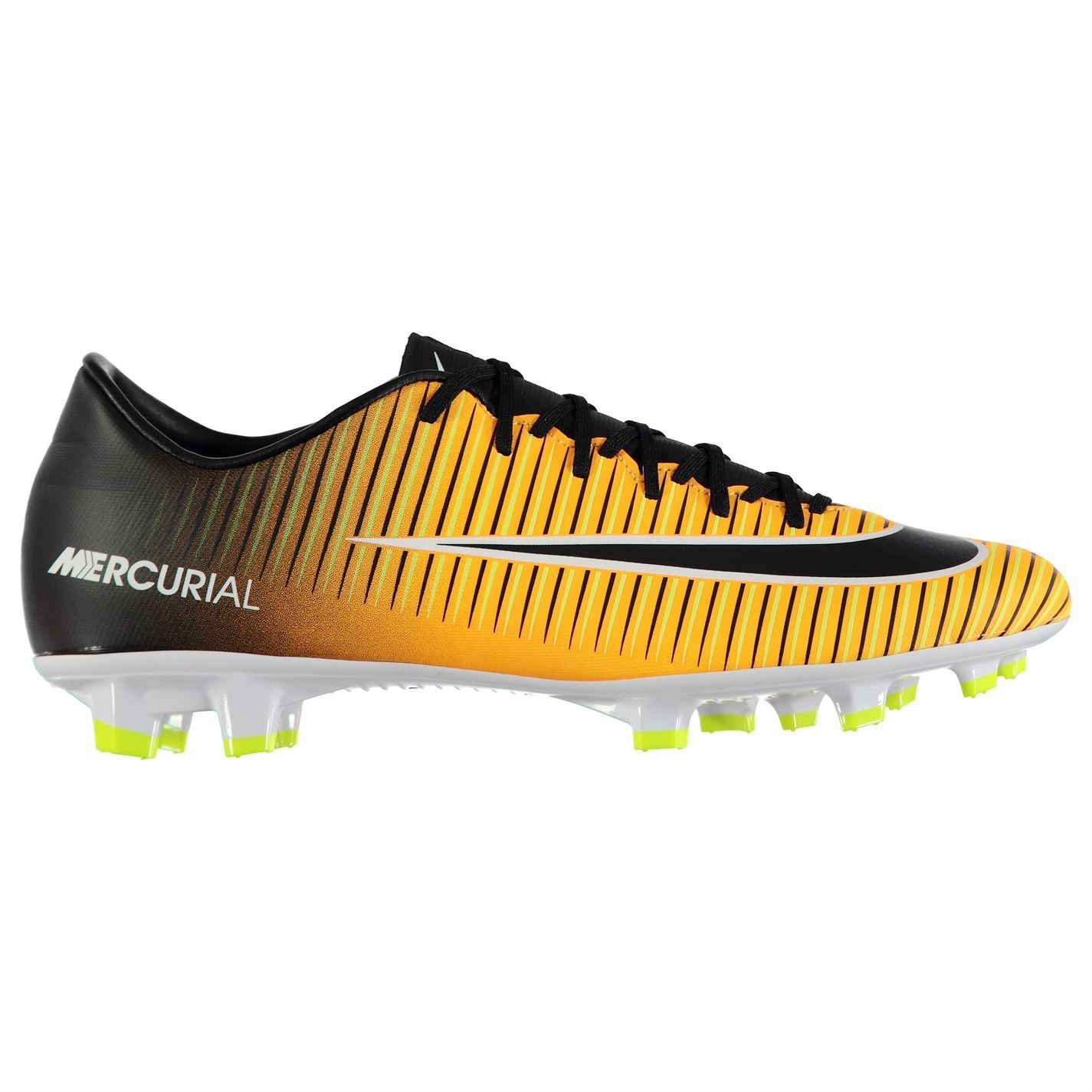 Nike Mercurial Victory Firm Ground Football Boots Mens Orange Soccer Shoe  Cleats 8a84f8feb28c7