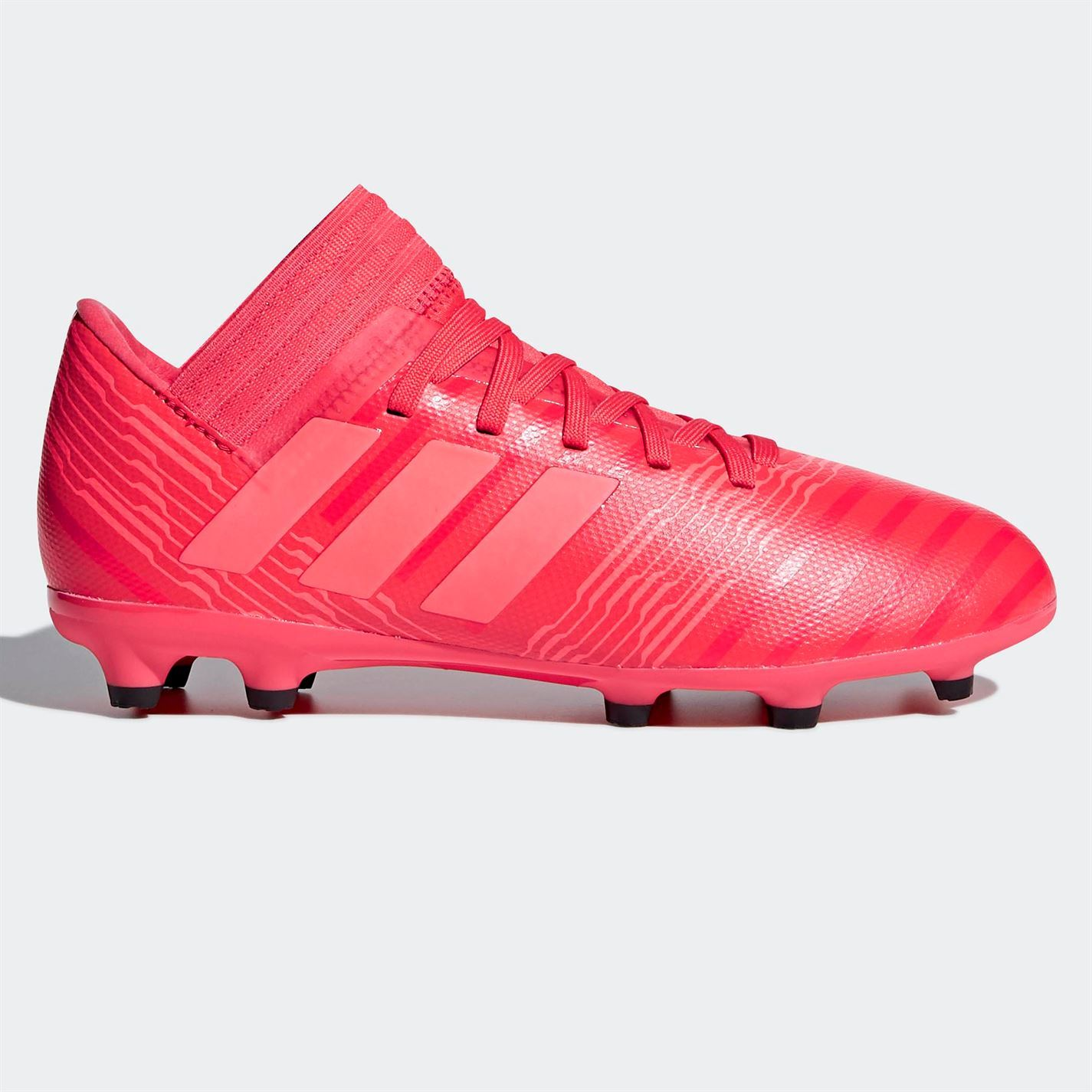 69ff7c09d040 ... adidas Nemeziz 17.3 FG Firm Ground Football Boots Childs Red Soccer  Shoes Cleats ...