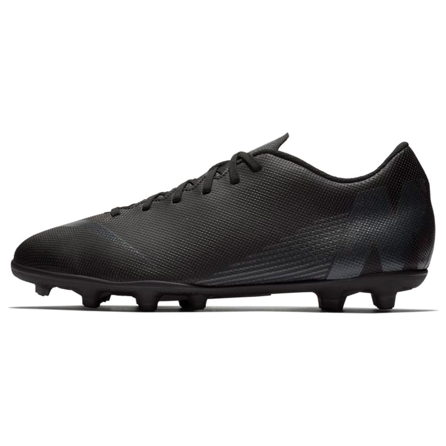 3d3c87d066d2 Details about Nike Mercurial Vapor Club FG Firm Ground Football Boots Mens  Black Soccer Cleats