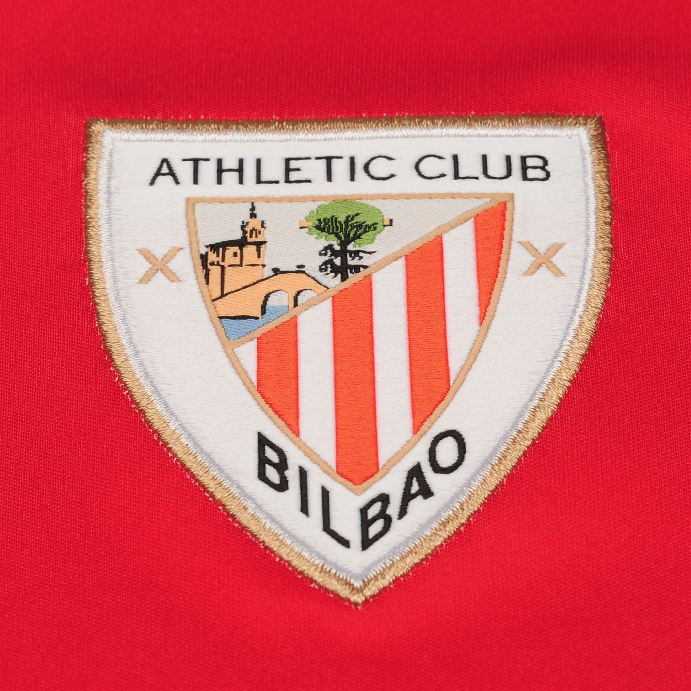 7bba39d8905f4 ... New Balance Athletic Bilbao Home Jersey 2018-19 Mens Red Football  Soccer Shirt
