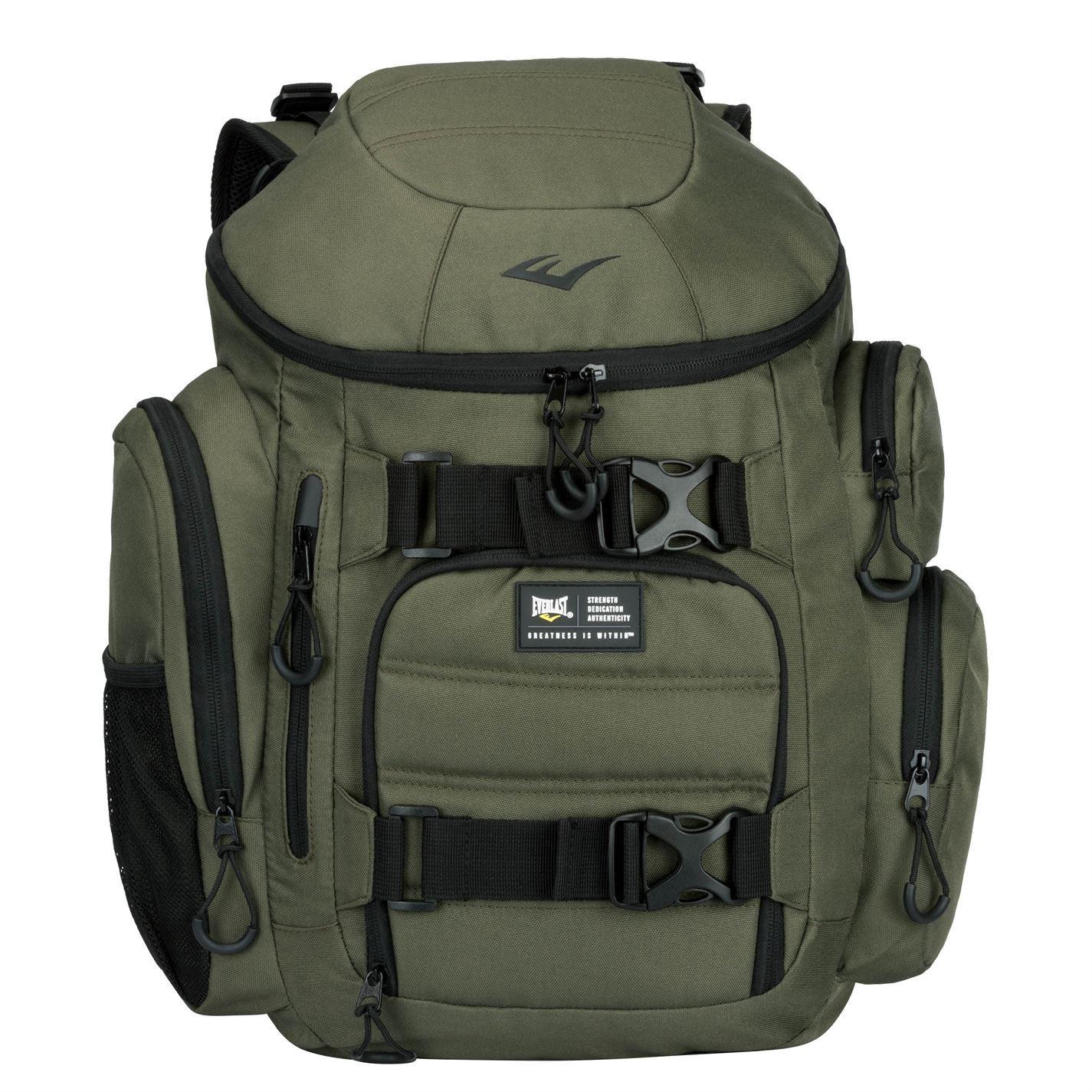 cdd99656e4 Everlast Endurance Backpack Green Rucksack Daypack Bag | eBay