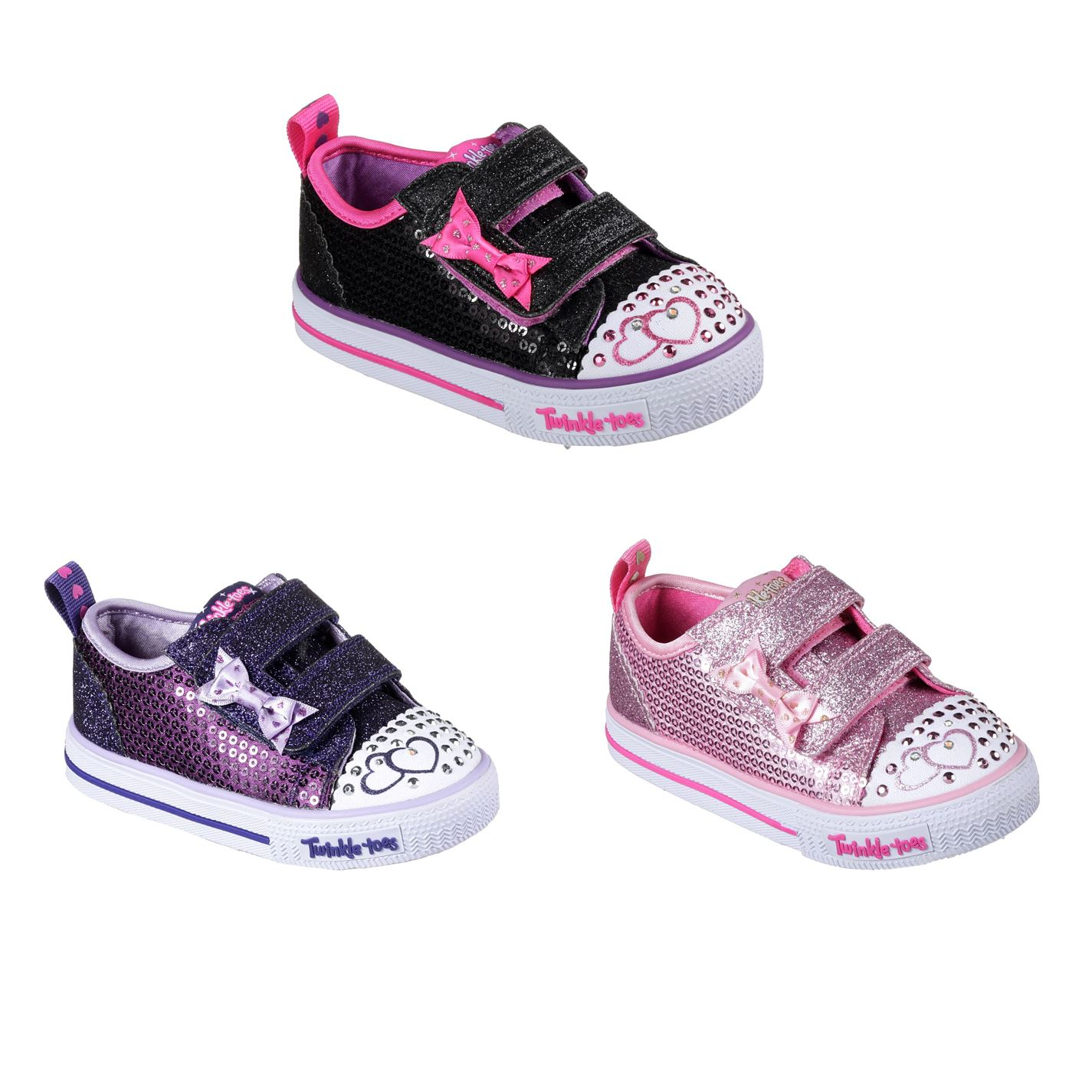 licencia Barry Estribillo  Skechers Twinkle Toes Itsy Bitsy Shoes Infant Girls Trainers Footwear | eBay