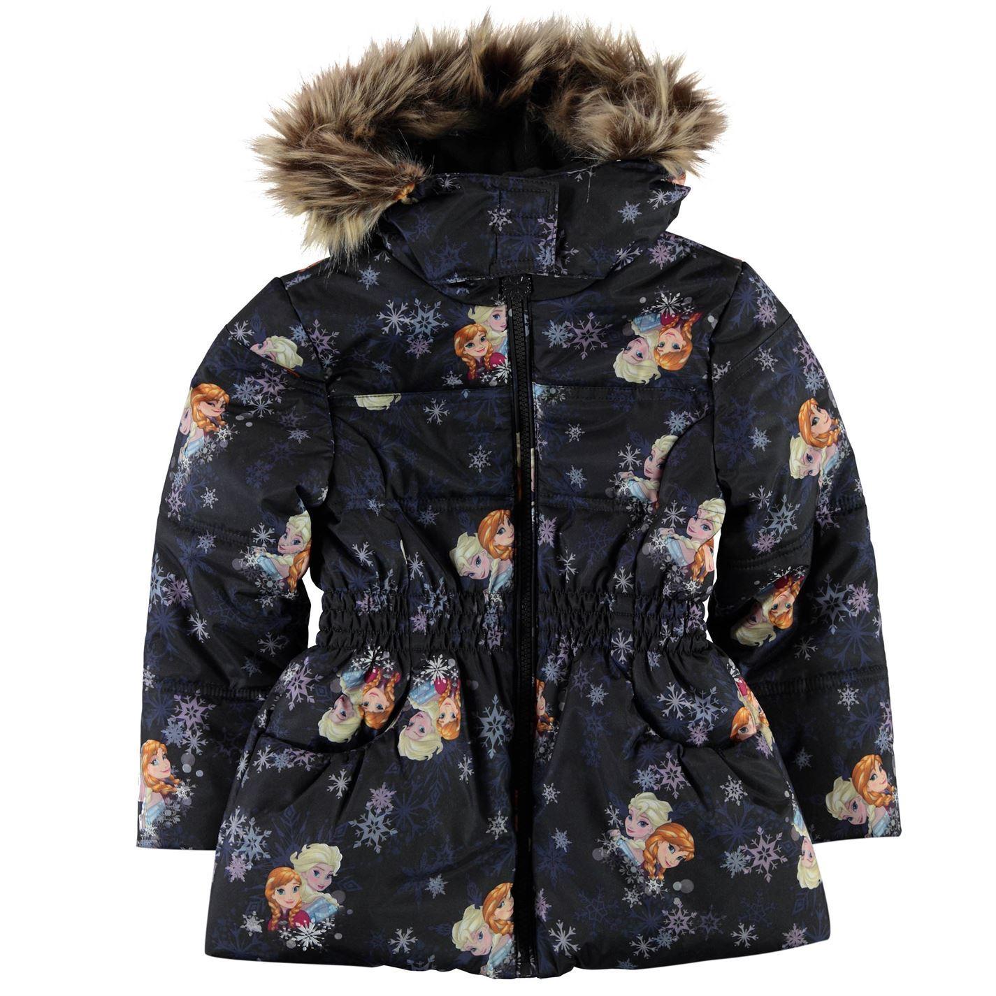 d5ee6d332aff Character Padded Coat Infant Junior Girls Outerwear Jacket Raincoat ...