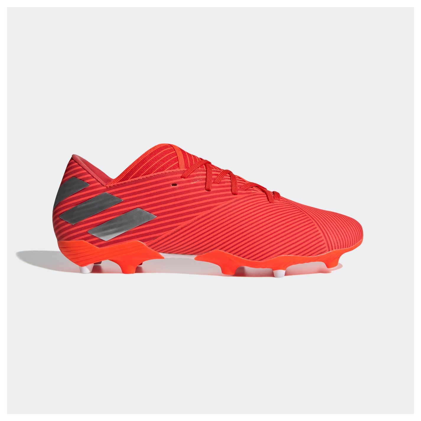 Adidas-nemeziz-19-2-Firm-Ground-FG-Chaussures-De-Football-Hommes-Soccer-Crampons-Chaussures miniature 13
