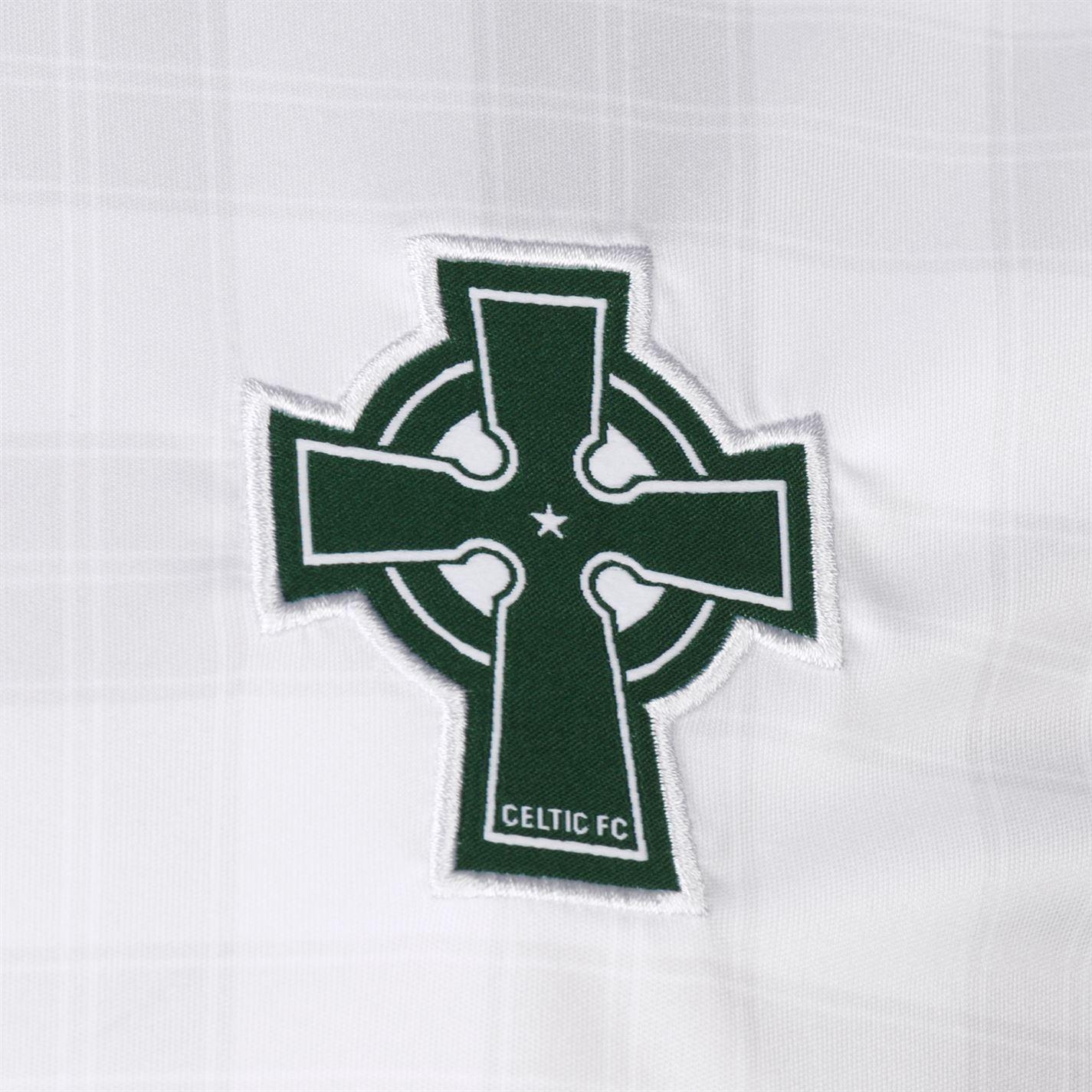 a3b198ad31680 ... New Balance Celtic Away Jersey 2018 2019 Juniors White Football Soccer  Shirt Top