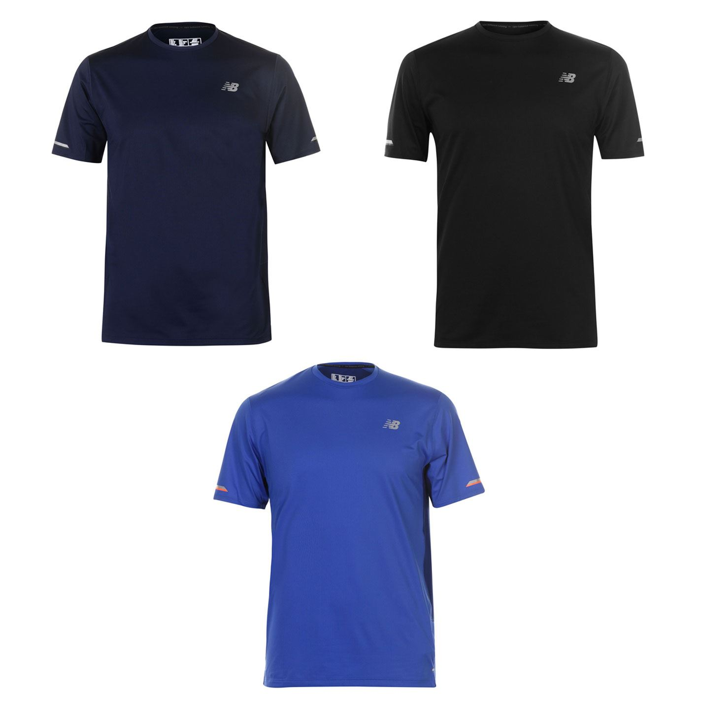 0c7ca977c97cb Details about New Balance Ice Running Top Mens Running Fitness Gym Workout T -Shirt Tee