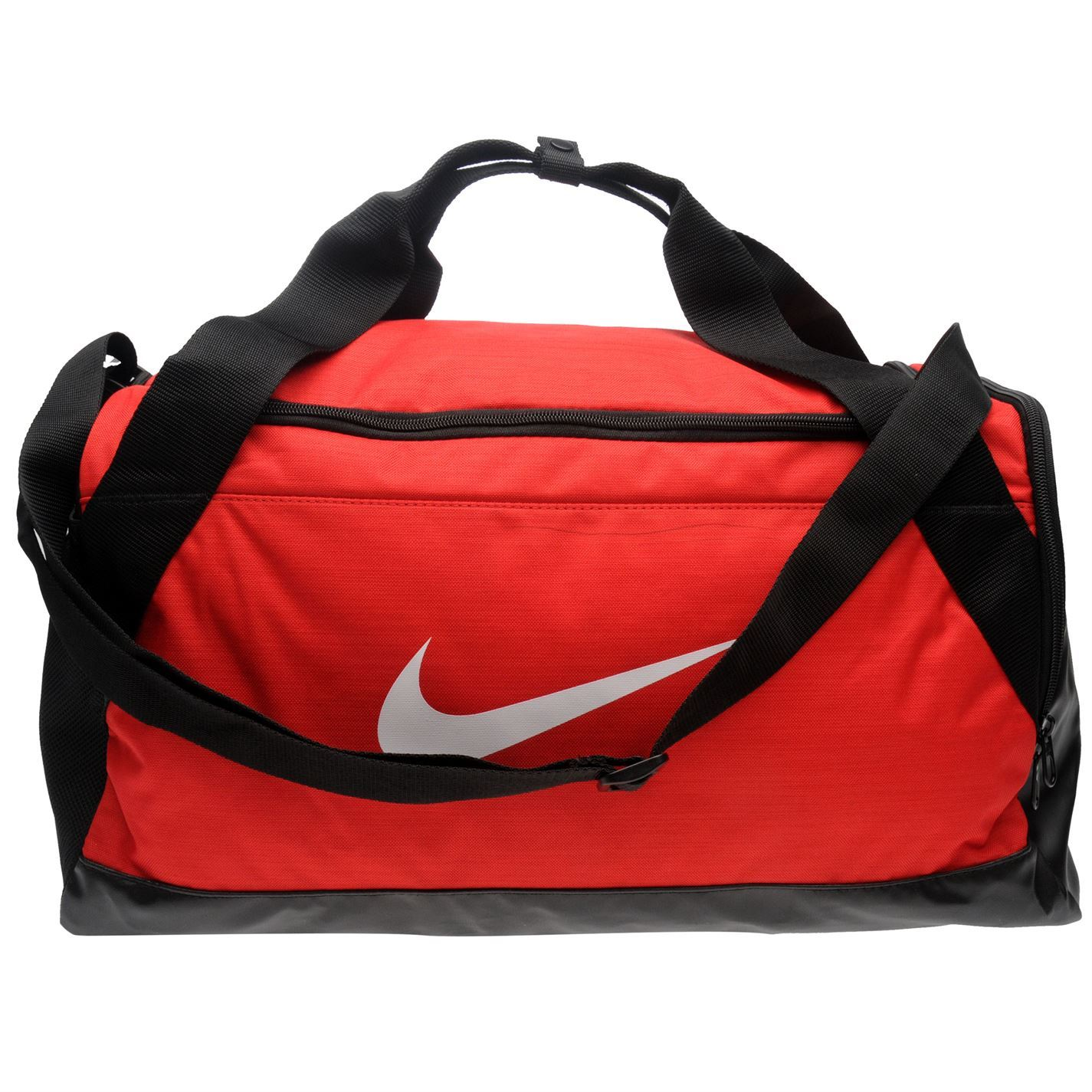 1085c896a7 ... Nike Brasilia petite poignée sport Holdall Gym rouge sac fourre-tout ...