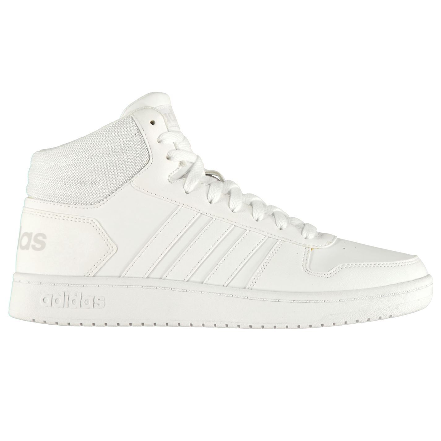 Adidas-Hoops-Mi-Montantes-Homme-athleisure-Chaussures-Baskets-Chaussures miniature 9