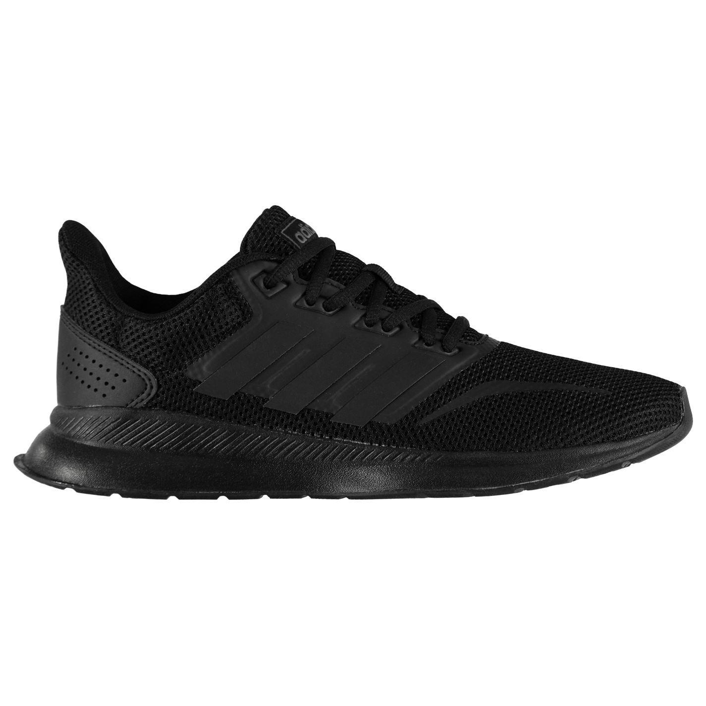 adidas-Falcon-Trainers-Junior-Boys-Shoes-Footwear thumbnail 4