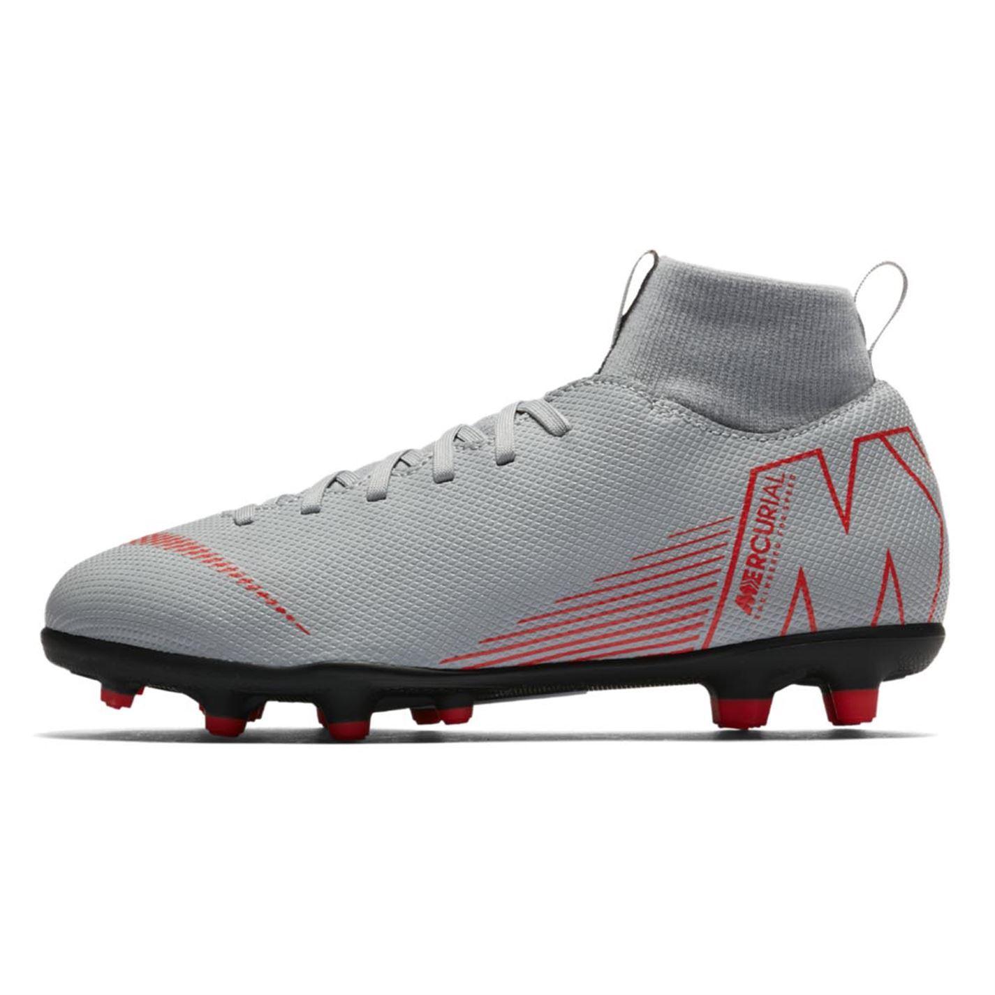 Nike-MERCURIAL-SUPERFLY-Club-DF-TERRA-FERMA-SCARPE-DA-CALCIO-JUNIOR-CALCIO-Cunei miniatura 8