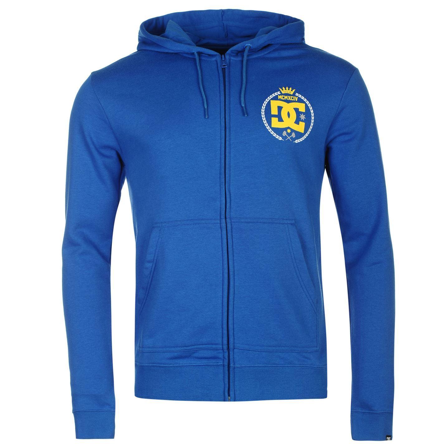 DC-Shoe-Co-Sledge-Full-Zip-Hoody-Jacket-Mens-Hoodie-Sweatshirt-Sweater-Top thumbnail 8