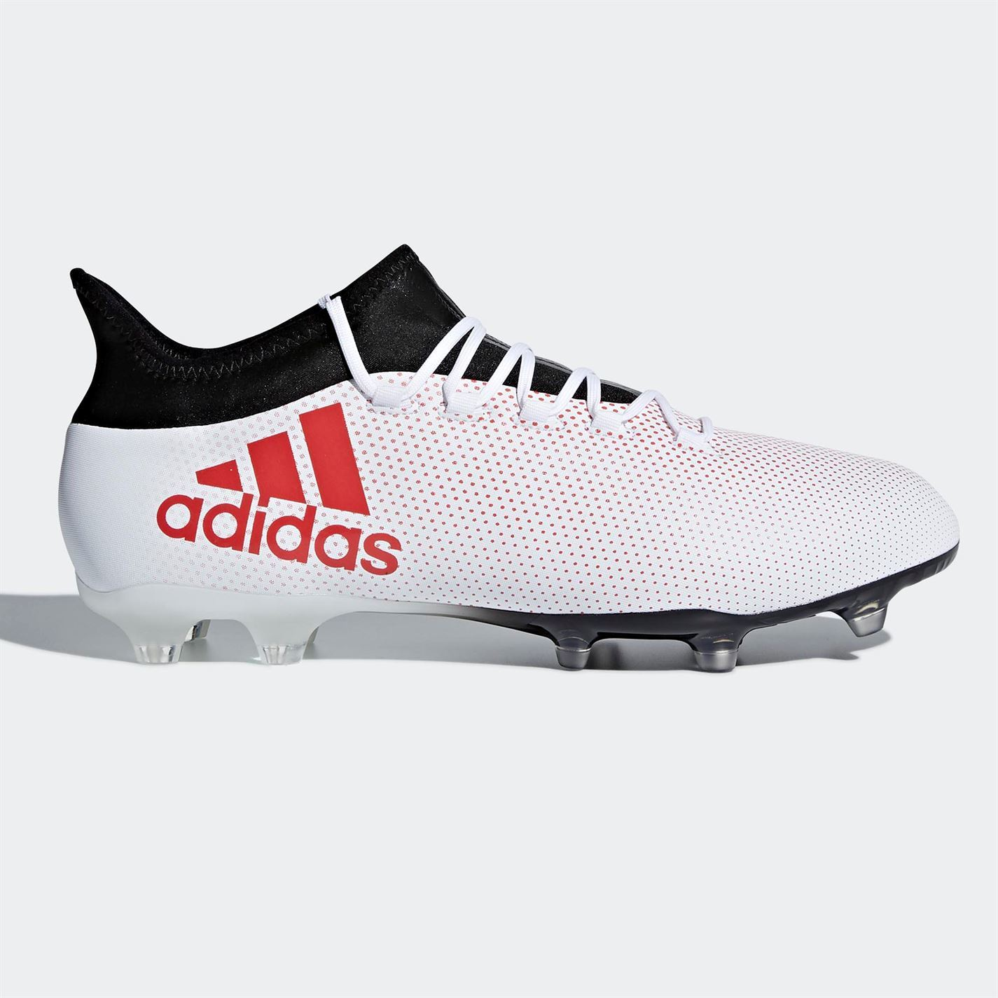 premium selection f2464 4737e ... adidas X 17.2 FG Firm Ground Football Boots Mens White Soccer Shoes  Cleats ...