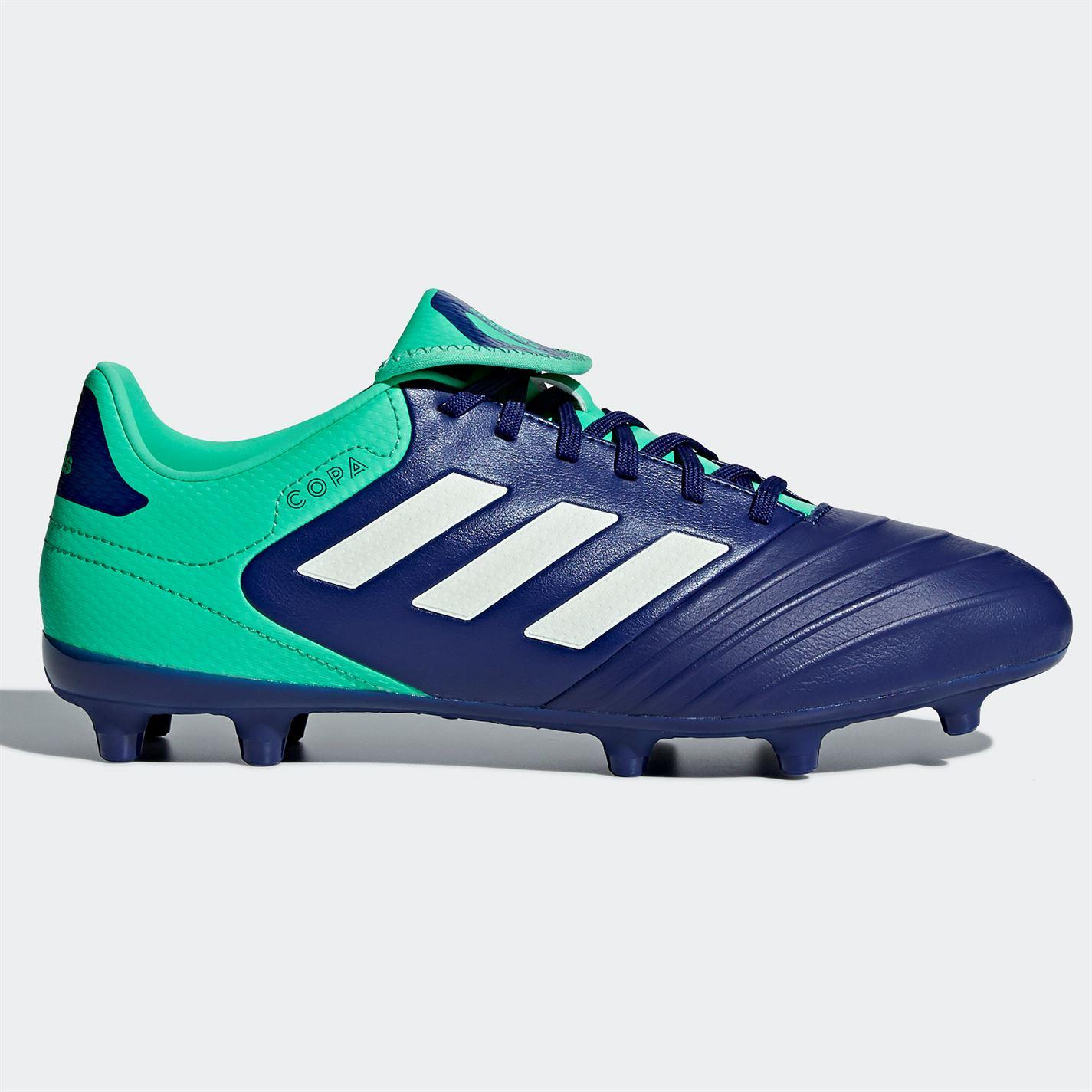 Details about adidas Copa 18.3 FG Firm Ground Football Boots Mens Blue  Soccer Shoes Cleats