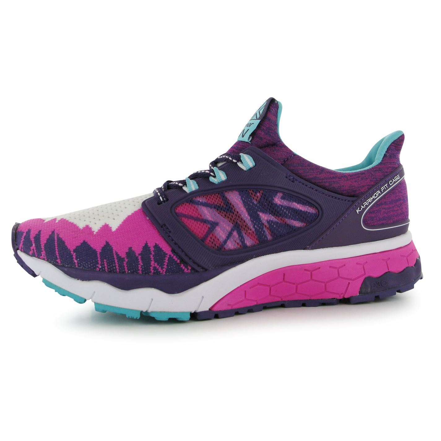 ... Karrimor Excel 2 Support Running Shoes Womens Pnk Purp Aq Trainers  Sneakers ... 07a96678c