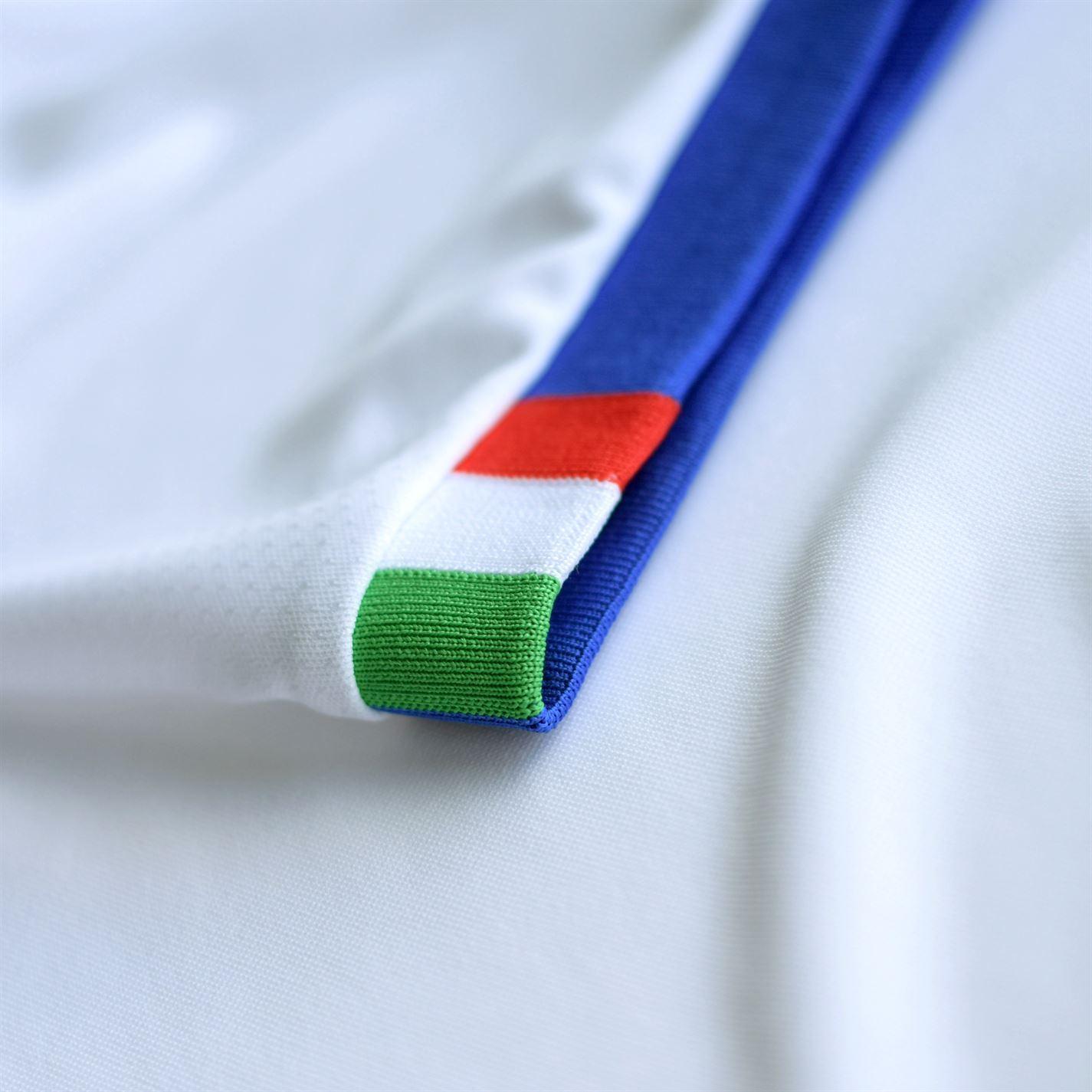 87c179773 Puma Italy Away Jersey 2018 Italia Juniors White/Blue Football Soccer Shirt  Top