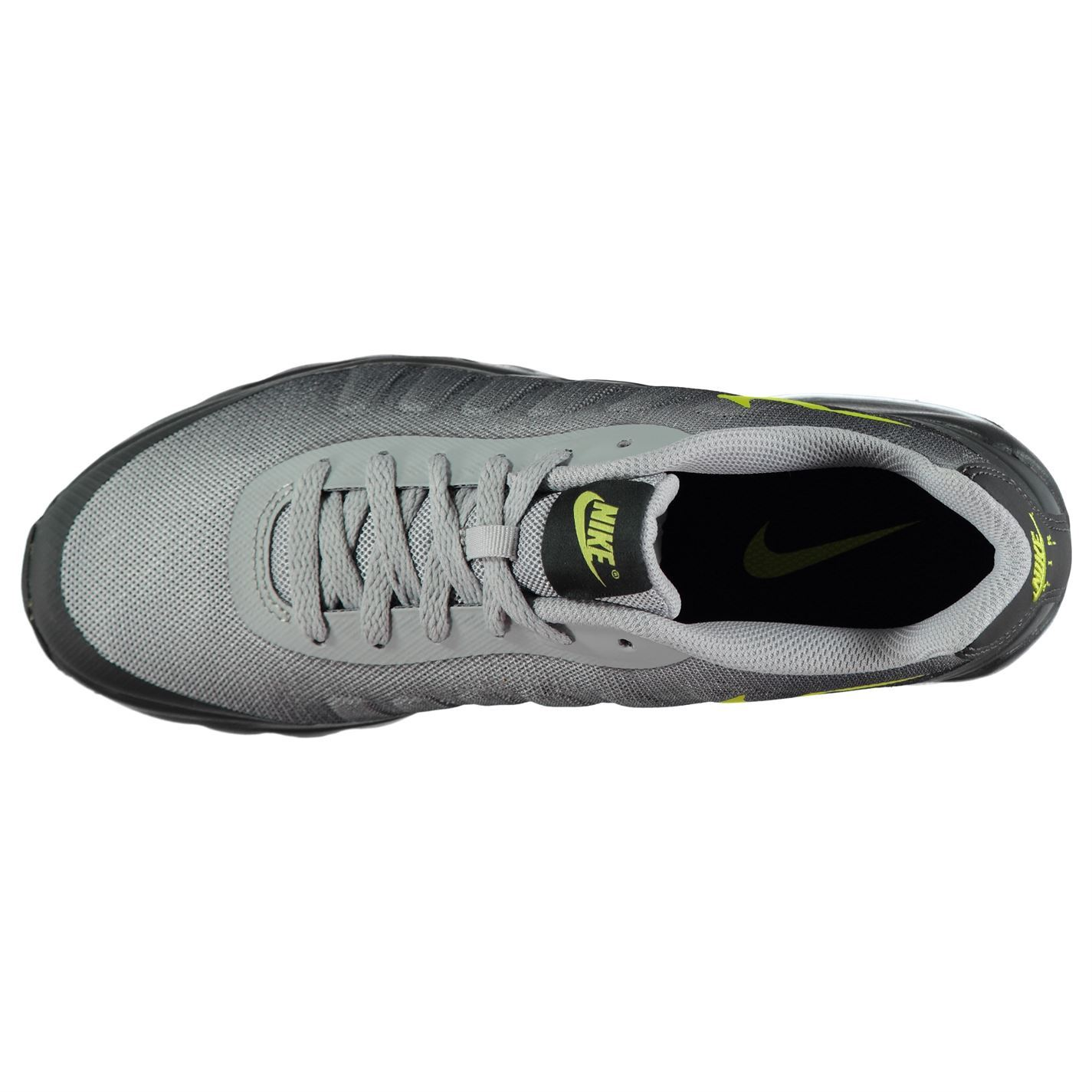 online store 7068b a3488 ... Nike Air Max Invigor Print Trainers Mens Grey Volt Athletic Sneakers  Shoes